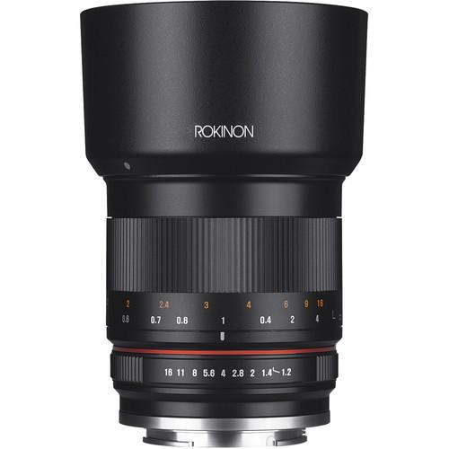 Rokinon 50mm f/1.2 Lens for Fujifilm X (Black) RK50M-FX