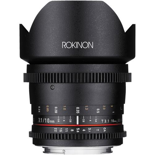 Rokinon Cine DS Wide-Angle Lens Kit for APS-C (Nikon F)