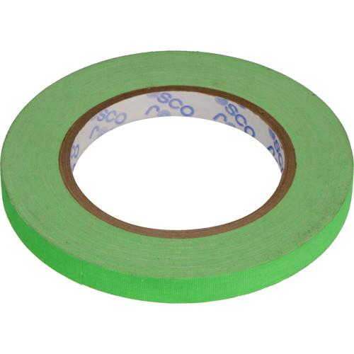Rosco  GaffTac Spike Tape - Fluorescent Green