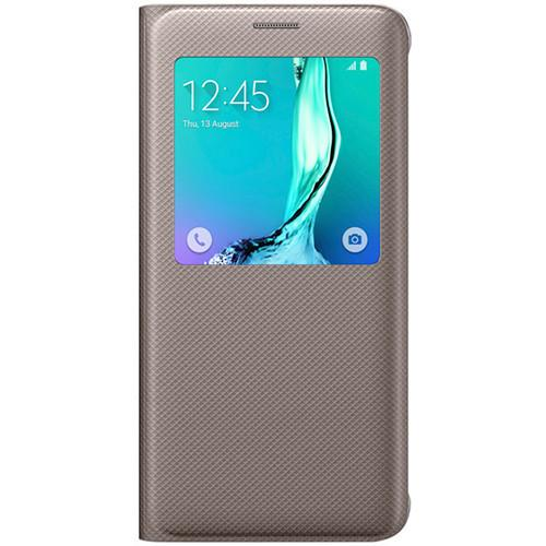 Samsung S-View Flip Cover for Galaxy S6 edge  EF-CG928PFEGUS