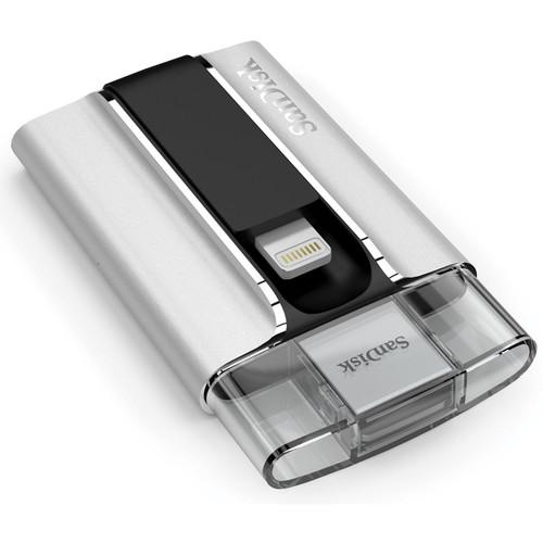 SanDisk iXpand Flash Drive for iPhone and iPad SDIX-128G-A57