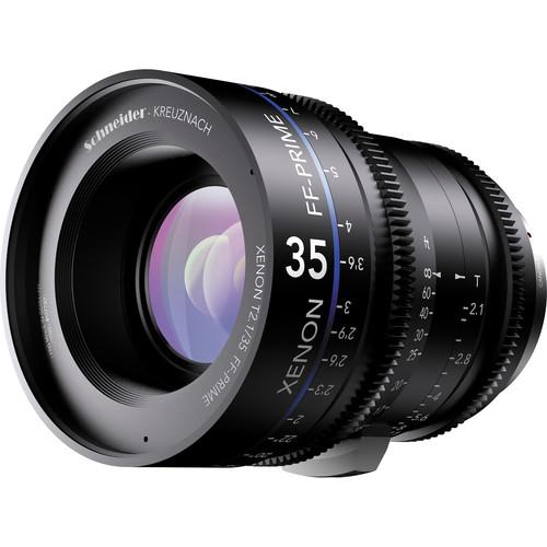 Schneider Xenon FF 35mm T2.1 Lens with Sony E Mount 09-1085546