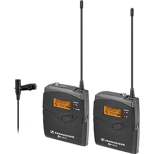 Sennheiser ew 112-P G3-B Wireless Lavalier System with Zoom