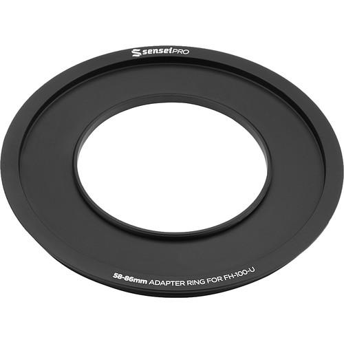 Sensei Pro 58mm Adapter Ring for 100mm Aluminum FH-100-AR58