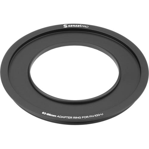 Sensei Pro 62mm Adapter Ring for 100mm Aluminum FH-100-AR62