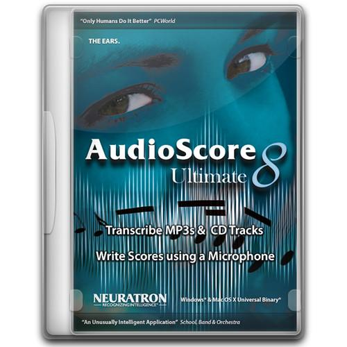 Sibelius  AudioScore Ultimate 8 99006568000