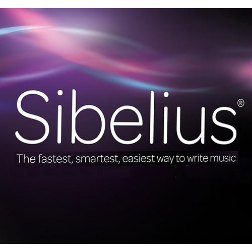 Sibelius Music Notation Software with Annual Upgrade 99356591100