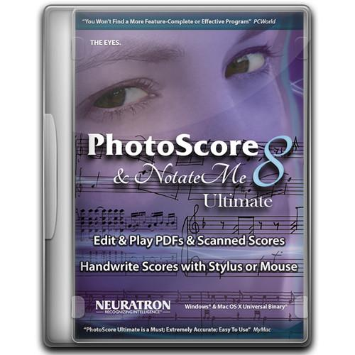 Sibelius PhotoScore & NotateMe Ultimate 8 Music 99006567900