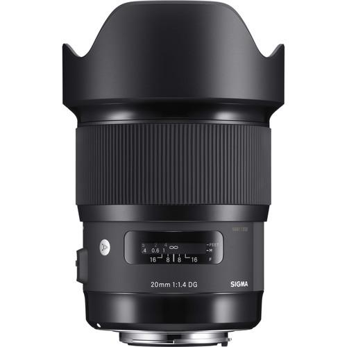 Sigma 20mm f/1.4 DG HSM Art Lens for Canon EF 412954