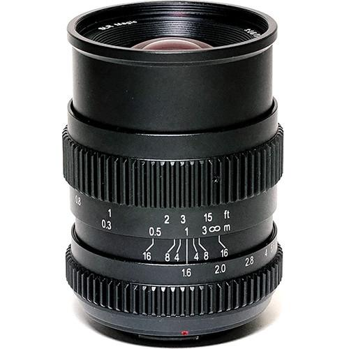 SLR Magic 17mm T1.6 Lens with MFT Mount SLR-1716MFT52VNDL