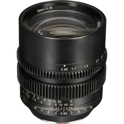SLR Magic 50mm T0.95 Lens with MFT Mount and SLR-5095MFT62VNDL
