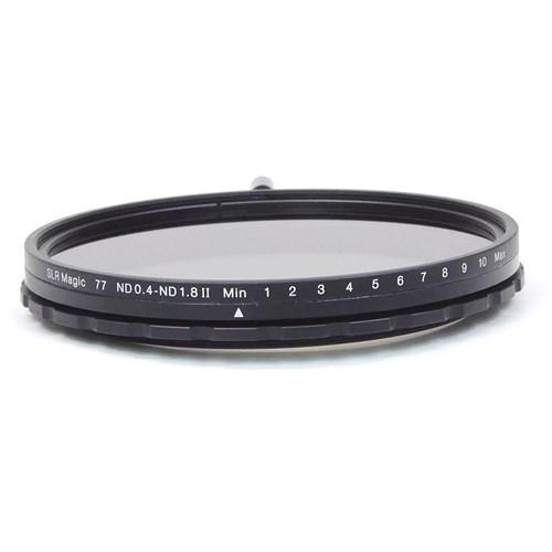 SLR Magic 77mm Variable Neutral Density 0.7 to 1.8 SLR-77VND II