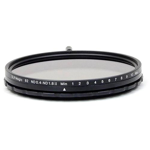 SLR Magic 82mm Variable Neutral Density 0.7 to 1.8 SLR-82VND II