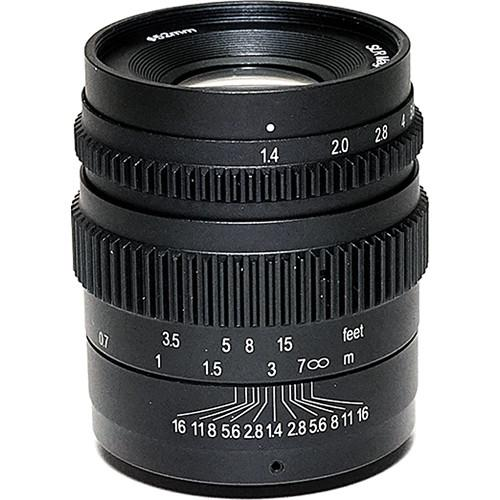 SLR Magic Cine 35mm T1.4 Mark II Lens SLR-3514E (II)52VNDL
