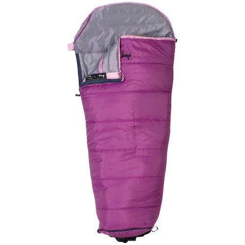 Slumberjack Go-N-Grow 30 Sleeping Bag (Girls) 52729511SR