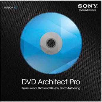 Sony  DVD Architect Pro 6.0 ASDVDA6099ESD
