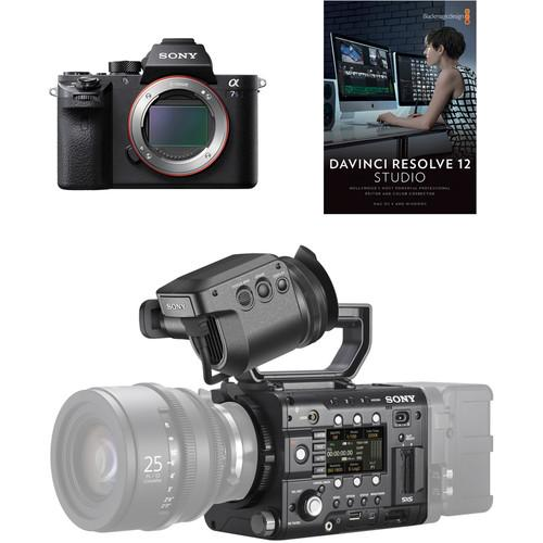 Sony PMWF5A7REL PMW-F5 & a7S II Production Crew PMWF5A7SEL