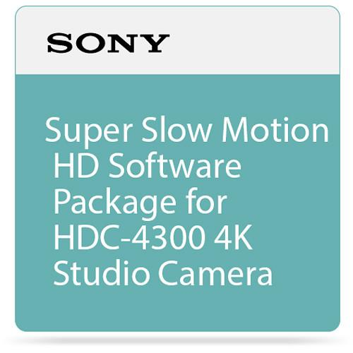 Sony Super Slow Motion HD Software Package for HDC-4300 SZC-4002