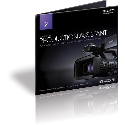 Sony Vegas Pro Production Assistant 2 ASVPA2099ESD