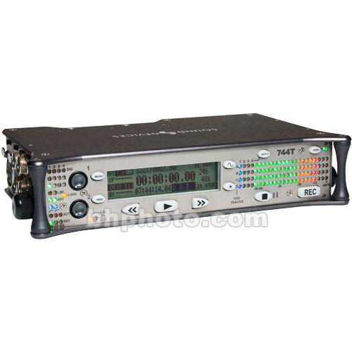 Sound Devices 744T 4-Channel Portable Audio Recorder &