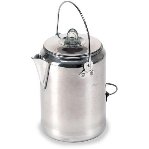 Stansport 9-Cup Aluminum Percolator Coffee Pot 277