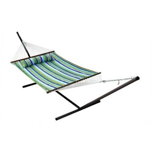 Stansport Antigua Cotton Double Hammock with Stand 30900