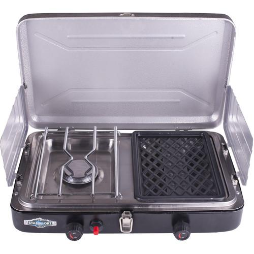 Stansport Compact Propane Stove and Grill 206-100