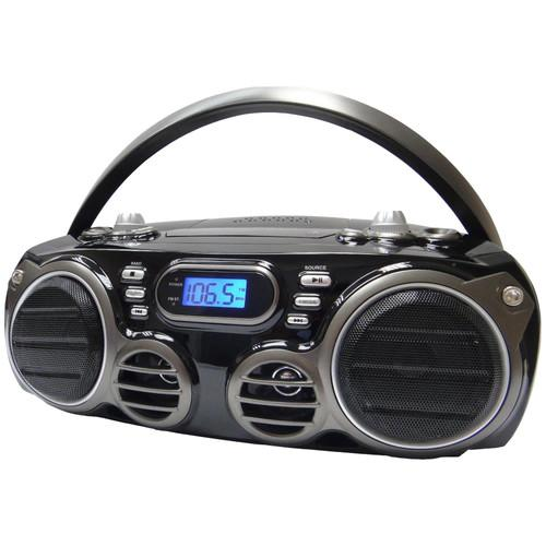 Sylvania Portable Bluetooth/CD Boom Box SRCD682BT
