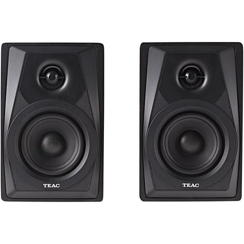 Teac LS-M100-B 2-Way Powered Monitor Speakers (Pair) LS-M100-B