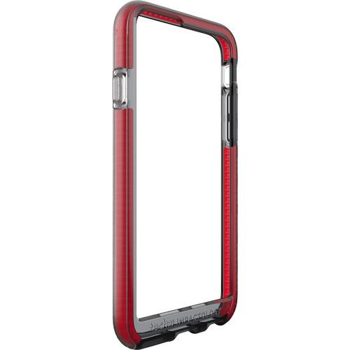 Tech21 Evo Band Bumper Case for iPhone 6 (Smokey/Red) T21-5004