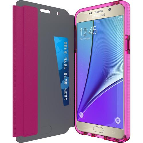Tech21 Evo Wallet Case for Galaxy Note 5 (Pink) T21-4480