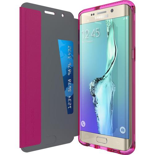 Tech21 Evo Wallet Case for Galaxy S6 edge  (Pink) T21-4484