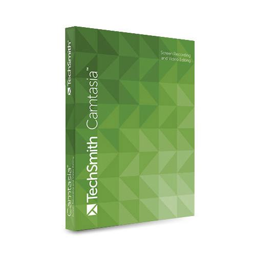 TechSmith Camtasia Commercial for Mac (Download) CMAC01-2-ESD
