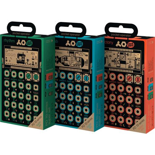 Teenage Engineering Holiday 2015 Pocket Operator Bundle TE.010KT