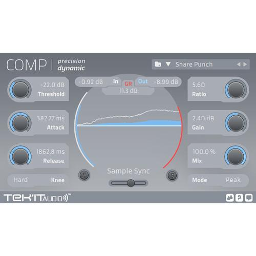 Tek'it Audio Comp - Modern Compressor Plug-In (Download)