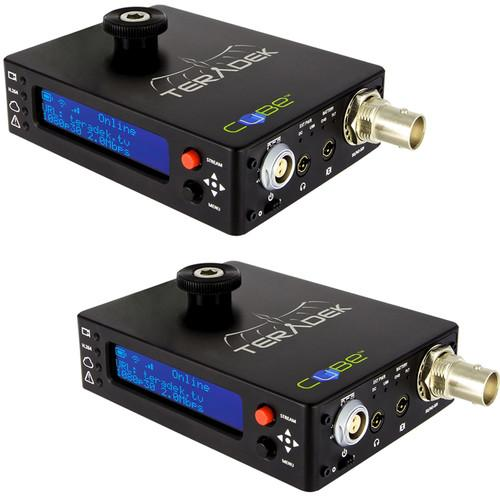 Teradek Cubelet 106/306 HD-SDI Encoder and Decoder Pair 10-0636