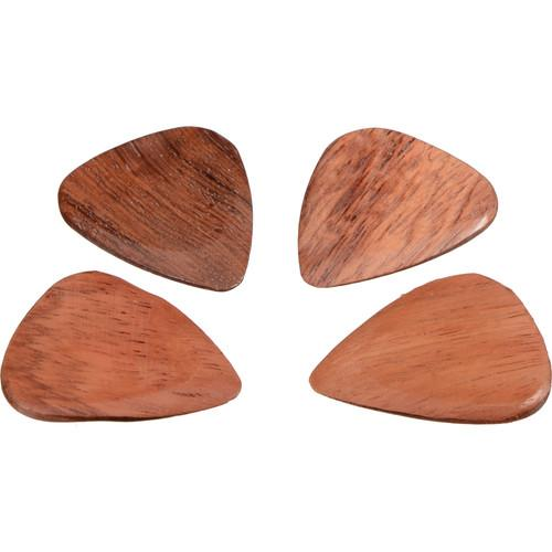 Timber Tones Timber Tones Bloodwood Guitar Picks (4-Pack) TTBL4