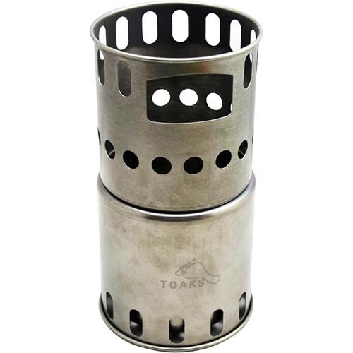 Toaks Outdoor Titanium Backpacking Wood Burning Stove STV-11