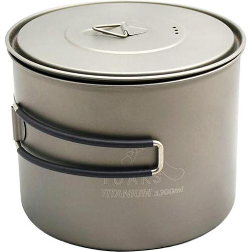 Toaks Outdoor  Titanium Pot (1300mL) POT-1300