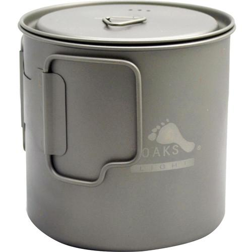 Toaks Outdoor  Titanium Pot (650mL) POT-650-L