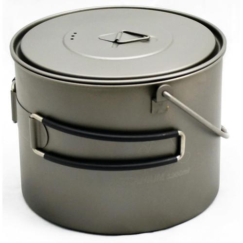 Toaks Outdoor Titanium Pot�with Bail Handle POT-1300-BH