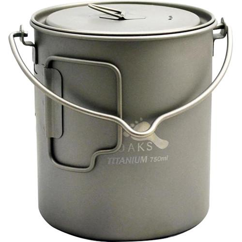 Toaks Outdoor Titanium Pot�with Bail Handle POT-750-BH