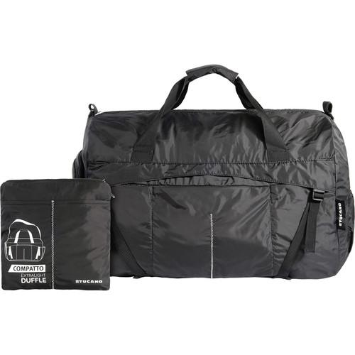 Tucano Compatto XL Water-Resistant 45L Duffle Bag (Black) BPCOWE