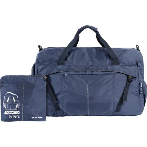 Tucano Compatto XL Water-Resistant 45L Duffle Bag (Blue)