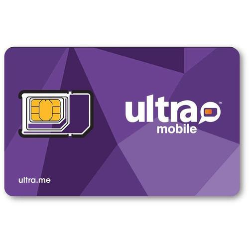 Ultra Mobile 3-Size SIM Card Starter Kit ULTRA-SIM