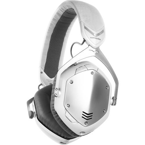 V-MODA Crossfade Wireless Headphones (White/Silver) XFBT-WSILVER
