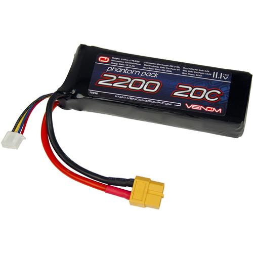 Venom Group 2200mAh LiPo Battery with XT60 Connector 15096