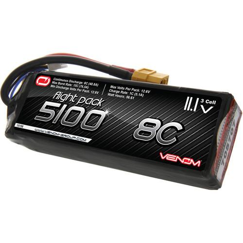 Venom Group 5100mAh LiPo Battery with XT60 Connector 15158
