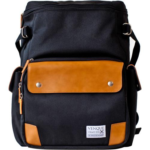 Venque  CamPro Camera Backpack (Black) 5003