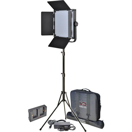 Vidpro LED 1x1 Professional Studio Lighting Kit LED-1X1